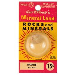 """Mineral Land Rocks and Minerals"" No.M8 - Peristerite."
