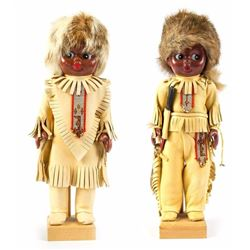 Pair of Indian Collectible Dolls.