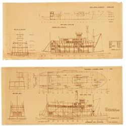 Disneyland & Walt Disney World Riverboat Blueprints.