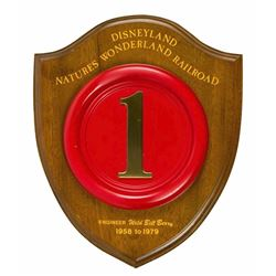 Nature's Wonderland  Engine #1 Plaque.