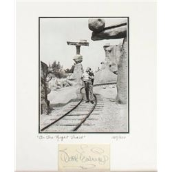 Walt Disney Signature & Limited Edition Photo.