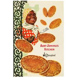 Aunt Jemima's Kitchen Menu.