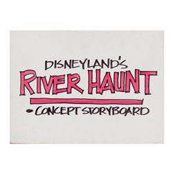 "Disneyland ""River Haunt"" Concept Storyboards."