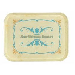 New Orleans Square Food Service Tray.