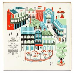 New Orleans Square Tile Coaster.