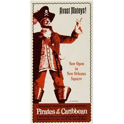 """Pirates of the Caribbean"" Gate Flyer."