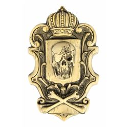 "Randotti ""Pirate Crest"" Wall Plaque."