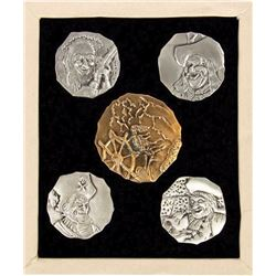 """Pirates"" Special Event Limited Edition Doubloons."