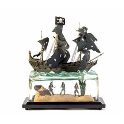 Limited Edition Black Pearl Figure.