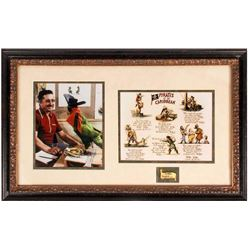 "Imagineer X. Atencio Framed ""Pirates"" Set."