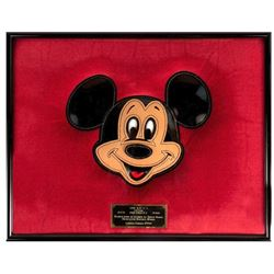 Mickey Mouse Limited Edition Leather Image.