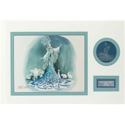 Marc Davis Concept Art Lithograph & Ornament.