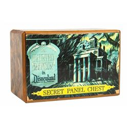 "Large ""Haunted Mansion"" Secret Panel Chest."