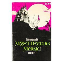 """Mystifying Magic"" Haunted Mansion Book."