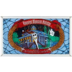 """Haunted Mansion Holiday"" Debut Stained Glass."