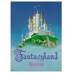 "Disneyland Fantasyland ""Near-Attraction"" Poster."