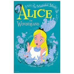 """Alice in Wonderland"" Attraction Poster."