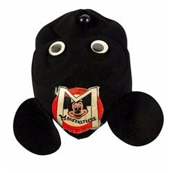 Mickey Mouse Club Black Felt Hat.