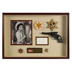 Annette Funicello Custom Mouseketeer Shadowbox.