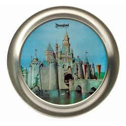 Sleeping Beauty Castle Tin Plate.