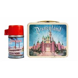 Disneyland Metal Lunchbox with Thermos.