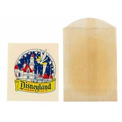Disneyland Tinker Bell Color Decal.
