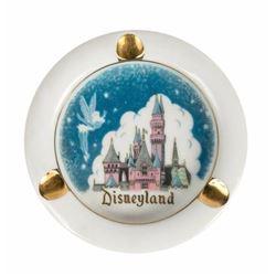 Tinker Bell & Disneyland Castle Ashtray.