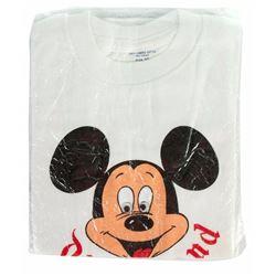 Mickey Mouse Googly-Eyes Disneyland Shirt.