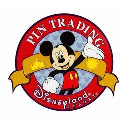 Disneyland Pin Trading Sign.