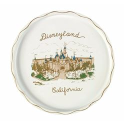 Disneyland California Tin Tray.