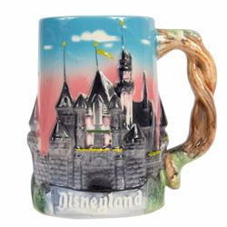 Sleeping Beauty Castle 3-D Mug.