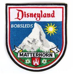 """""""Matterhorn Bobsleds"""" Cast Member Patch."""