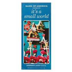 """It's a Small World"" Brochure."