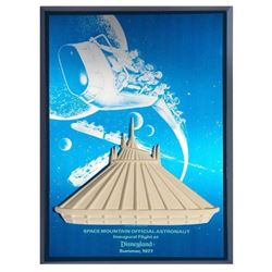 Space Mountain  Inaugural Flight  VIP Gift.