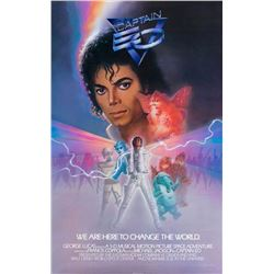 """Captain EO"" Promotional Poster."