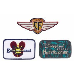 Collection of (3) Cast Member Patches.
