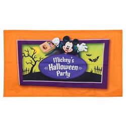 "Mickey's Halloween Party ""Treat Stop"" Banner."