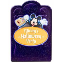 Mickey's Halloween Party Sign.