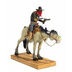Bandit Riding Horse Maquette.