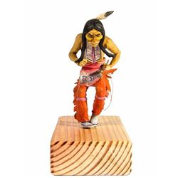 Dancing Indian with Spear Maquette.