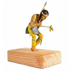 Dancing Indian with Bow Maquette.