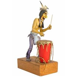 Indian Drummer Maquette.