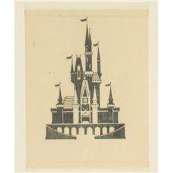 Cinderella Castle Pre-Opening Concept Art.