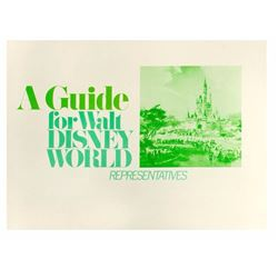 Walt Disney World Representatives Guide.