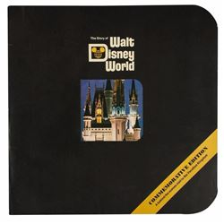 The Story of Walt Disney World  Book.