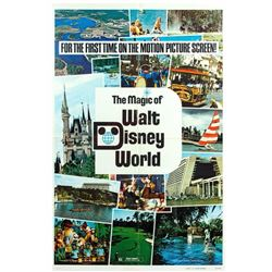 """The Magic of Walt Disney World"" Theatrical Poster."