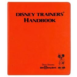 """Disney Trainers' Handbook"" Instructor's Manual."