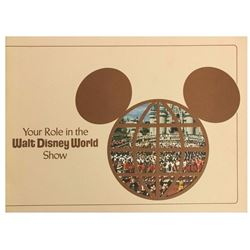 """Your Role in the Walt Disney World Show"" Booklet."