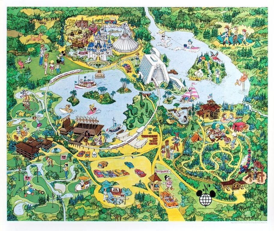 Walt Disney World Illustrated Map. on animal kingdom map, hong kong disneyland map, florida map, hollywood studios map, disney world florida, disney princess map, resort map, 2012 end of world, magic kingdom map, universal studios map, walt disney 2014 2015 map, disney epcot map, disney world resort, downtown disney map, tokyo disneyland map, disney world ticket, hotels in disney world, disney world dining, typhoon lagoon map, orlando map, disney world family vacation, disney land map, wdw map, google world map, islands of adventure map, state map, sea world map, disney world discount, national geographic maps, free world map,