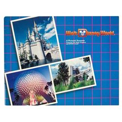 """Walt Disney World A Pictorial Souvenir""."